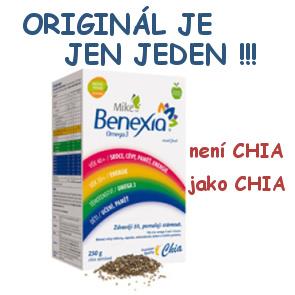 Mike Benexia Omega3 - Chia semínka v nejvyšší kvalitě nyní za nejnižší cenu