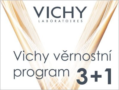 VICHY:  Akce 3+1 zdarma !!! Nenechte svou pleť zestárnout!