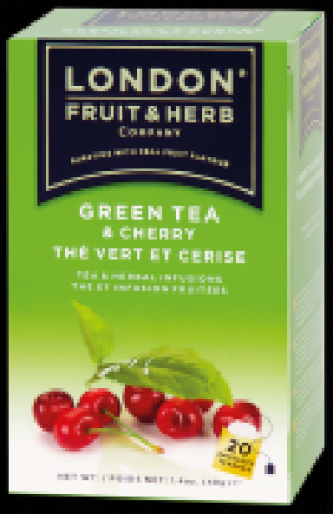 London  Green Tea Cherry 20x2g