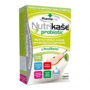 Nutrikaše probiotic s hruškami 3x60g