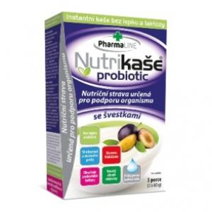 Nutrikaše probiotic se švestkami 3x60g